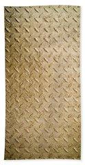 Grit Of Goldfinger Beach Towel