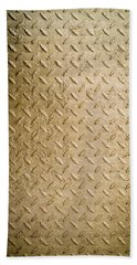 Grit Of Goldfinger Beach Towel