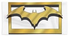 Golden Bat Beach Sheet