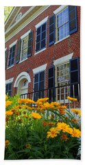 Golden Blooms At The Dahlonega Gold Museum Beach Towel