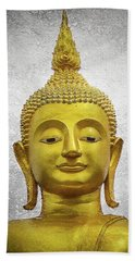 Golden Buddha Beach Towel