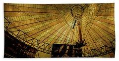 Golden Cosmic Berlin Beach Sheet