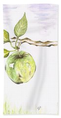 Golden Delishous Apple Beach Towel