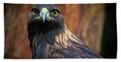 Golden Eagle 1 Beach Towel