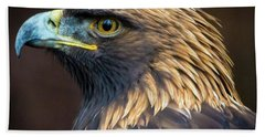 Golden Eagle 2 Beach Towel