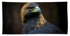 Golden Eagle 3 Beach Towel