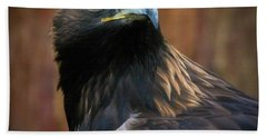 Golden Eagle 4 Beach Towel