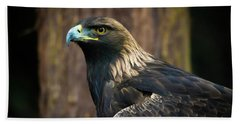 Golden Eagle 5 Beach Towel