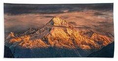 Golden Evening Sun Beach Towel by Hanny Heim