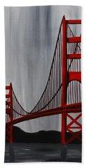 Golden Gate Bridge Beach Towel