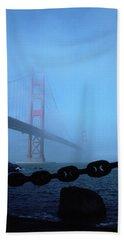 Golden Gate Bridge From Fort Point Beach Towel