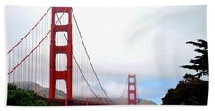 Golden Gate Bridge Full View Beach Towel by Matt Harang
