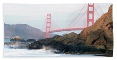 Golden Gate Bridge Beach Sheet
