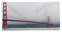 Golden Gate Bridge Beach Sheet