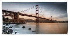 Golden Gate Bridge, San Francisco Beach Sheet