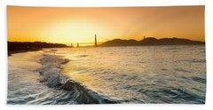 Golden Gate Curl Beach Towel