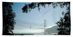 Golden Gate Fog  Beach Sheet
