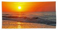 Golden Glory Beach Towel