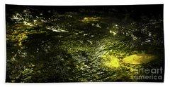 Golden Glow Beach Sheet by Tatsuya Atarashi