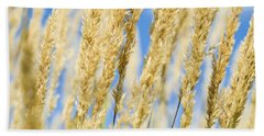Beach Towel featuring the photograph Golden Grains by Christi Kraft
