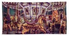 Golden Hobby Horse Beach Sheet