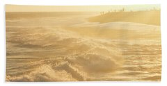 Golden Hour At The Wedge Beach Towel