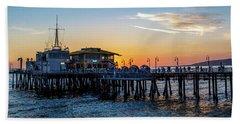 Golden Hour - Panorama Beach Sheet