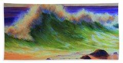 Golden Hour Sea Beach Sheet