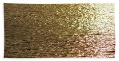 Golden Lake Beach Towel