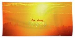 To You #002 Beach Sheet by Tatsuya Atarashi