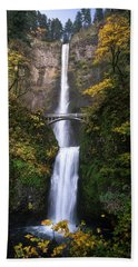 Golden Multnomah Beach Towel by Bjorn Burton