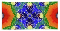 Golden Pond Beach Towel by Mo T