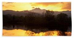 Golden Ponds Longmont Colorado Beach Towel