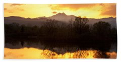 Golden Ponds Longmont Colorado Beach Towel