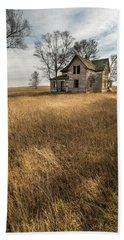 Golden Prairie  Beach Towel by Aaron J Groen