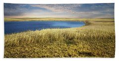Golden Prairie Beach Towel
