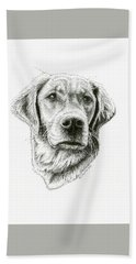 Golden Retriever Bliss Beach Sheet