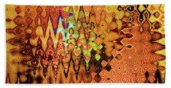 Golden Shrine Beach Sheet by Ann Johndro-Collins