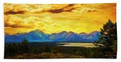 Golden Sky ... Beach Sheet