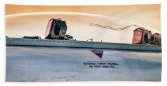 Golden Sky Beach Sheet by Lawrence Burry
