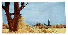 Beach Towel featuring the photograph Golden Summer by Helga Novelli