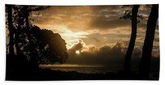Golden Sun Beach Towel
