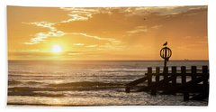 Golden Sunrise At Aberdeen Beach Beach Towel