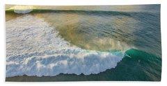 Golden Trails Beach Towel