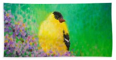 Goldfinch II Beach Towel