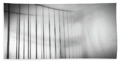 Golen Gate Fog Beach Sheet
