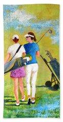 Golf Buddies #1 Beach Sheet