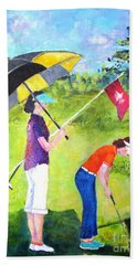 Golf Buddies #3 Beach Towel