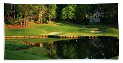 Golf The Landing #3 Reynolds Plantation Lake Oconee Ga Art Beach Towel