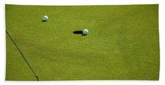 Golf - The Longest Inch Beach Towel by Chris Flees